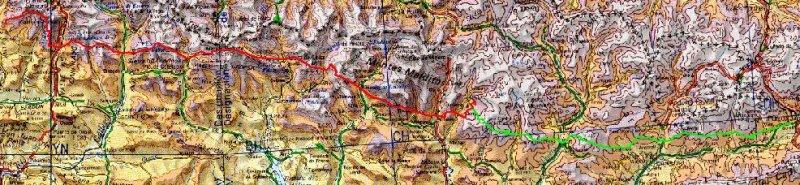 2 vuelos, el Pirineo casi completo